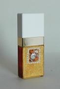 """ceramique verre abstrait flacon verre abstrait coquillage : Flacon de parfum décoré """"Carré des coquillages"""""""
