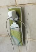 textile clothing abstrait pochette telephone ch : Pochette pour smartphone
