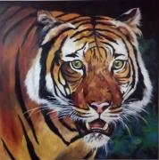 tableau animaux : le tigre