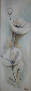 tableau fleurs club de peinture ain : fleurs blanches