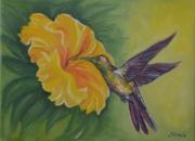 tableau : le colibri