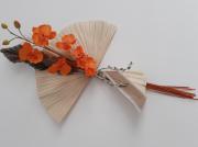 artisanat dart fleurs fleurs tropical composition florale : Bouquet floral mural feuille de palmier orchidée - Sun