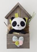 artisanat dart : Maison de panda
