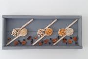 artisanat dart autres cadre de cuisine decoration cuisine cadre cadre epices : Cadre 3D de légumes - modèle 1