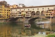 photo architecture pont florence arno italie : Ponte Vecchio à Florence