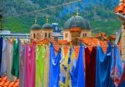 photo architecture couleurs montenegro lessive cathedrale : les Couleurs de Kotor