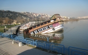 photo marine naufrage bateau bosphore turquie : le naufrage sur le Bosphore