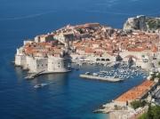 photo architecture dubrovnil croatie ville mer : Vue sur Dubrovnik
