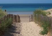 photo marine plage mer sable ile : Entrée de la plage