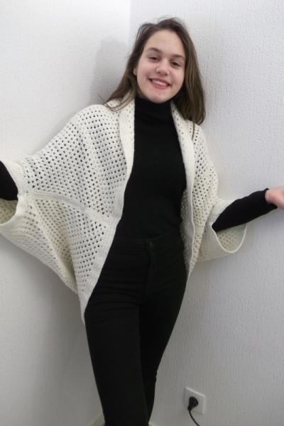 ART TEXTILE, MODE  - cardigan
