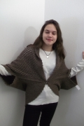 art textile mode : cardigan