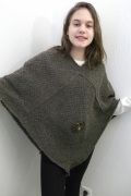 art textile mode : poncho