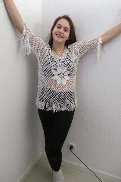 ART TEXTILE, MODE  - blouse