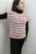 art textile mode : gilet