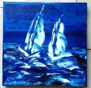 tableau marine marine voiliers huile toile : MARINE VOILIERS
