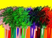 art numerique paysages palmier : Palm street