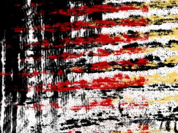 ART NUMéRIQUE abstrait Abstrait  - Stop