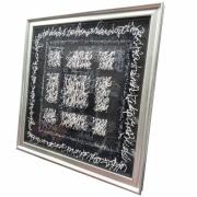 tableau autres calligraphie acrylique encre plexiglas : Je suis fou de vous