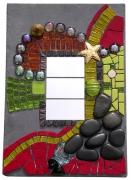 """deco design abstrait mosaique tableau ardoise miroir : Dans tous ces éclats """"METAMORPHOSE"""""""