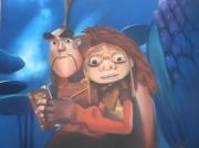 tableau personnages feerique dragon chasseur enfant : CHASSEURS DE DRAGONS