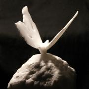 sculpture : Papillon