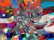 art numerique personnages spiderman usa pop art amerique : Heroe