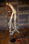 sculpture abstrait bois sculpture lampes art : bois flotés du léman