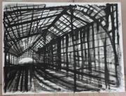 dessin architecture gare architecture : Gare imaginaire