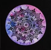 tableau autres ethnique abstrait mandala graphisme : Mandala 1