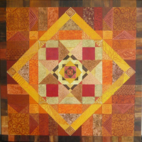 patchwork brun