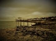 photo paysages mer peche rochers : cabane du pécheur