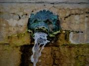 photo architecture lyon fontaine eau : La fontaine au Lyon