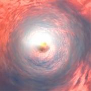 mixte abstrait ange paradis ciel vortex : Le sommeil de l'ange