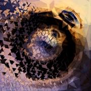 mixte abstrait musique abstrait geometrie son : Mégalographie