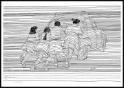 tableau art en lignes enfants : L'espoir