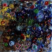 tableau fleurs matieres poetique : A fleur de flux