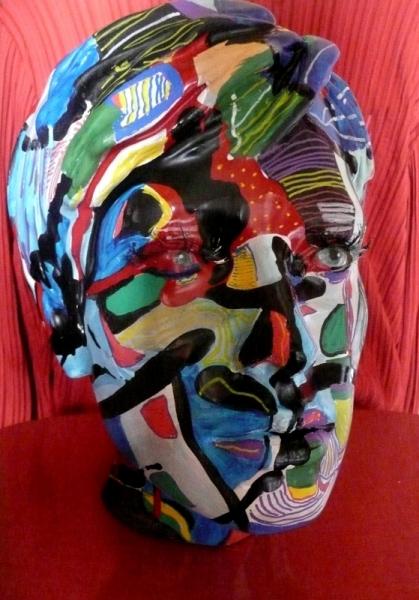 TABLEAU PEINTURE Déco Mouvement Poétique  - Serial colors