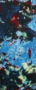 tableau abstrait matiere mouvement poetique : Langueurs océanes
