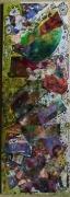 tableau personnages matieres reliefs poetique : Coquette