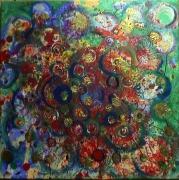tableau abstrait matiere energie poetique : A profusion
