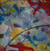 tableau abstrait design poetique : Nonet 5