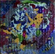 tableau abstrait matiere mouvement poetique : Bulles de savon