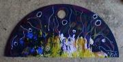 autres abstrait mouvement matiere poetique : le soleil bout et la lune douce