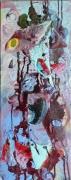 tableau abstrait matiere mouvement poetique : Tonk!