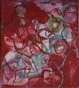 tableau abstrait relief vaisseaux organique poetique : Vernaculaire
