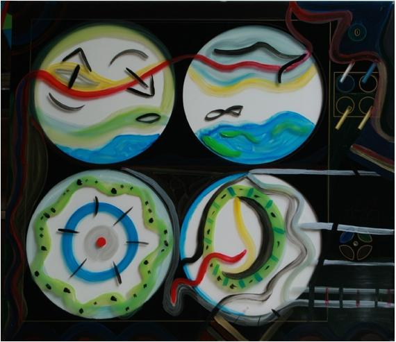 AUTRES ronds verre abstrait poétique Abstrait  - Gazolignes