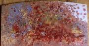 tableau abstrait mouvement matiere poetique : Pelletée