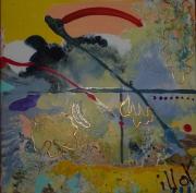 tableau abstrait design deco poetique : Nonet 2