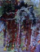 tableau abstrait mouvement matiere poetique : Les revenants de Pauillac