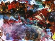 tableau abstrait matiere mouvement poetique : Impasse des échos liés